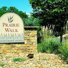 Rental info for Prairie Walk in the Kansas City area