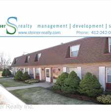 Rental info for Windcrest Court 7816 Lloyd Avenue in the Pittsburgh area