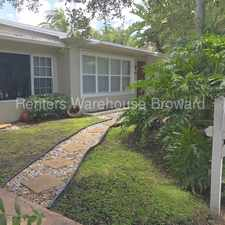 Rental info for Stunning 2/2 Duplex in the Heart of Fort Lauderdale in the Fort Lauderdale area