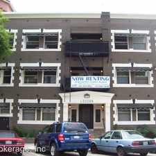 Rental info for 345 Chestnut Ave in the Downtown area