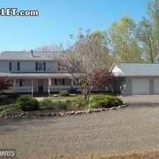 Rental info for Two Bedroom In Fauquier County