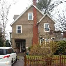 Rental info for 59 Pleasant Street in the Newton Center area