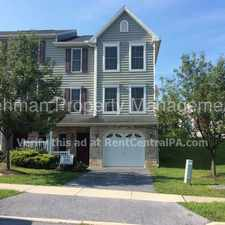 Rental info for 467 Sunday Dr in the Harrisburg area
