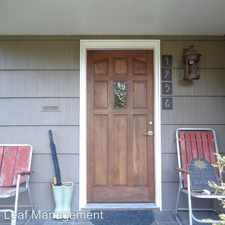 Rental info for 4756 51st Pl SW in the Seaview area