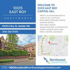 Rental info for 1005 E. Roy St. 25 in the Seattle area