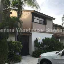 Rental info for Spacious 3/2.5 in the Township of Coconut Creek in the Pompano Beach area
