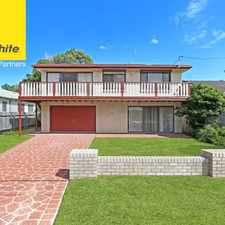 Rental info for Large family home in the Budgewoi area