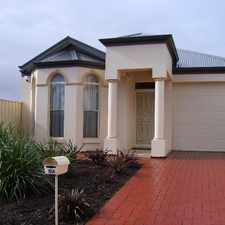 Rental info for ELEGANT SPACIOUS 4 BEDROOM HOME in the Adelaide area