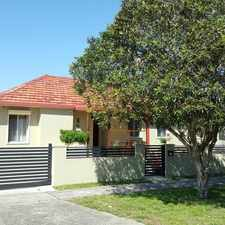 Rental info for Renovated family home with garage and 2 carspaces in the Pagewood area