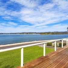 Rental info for Awesome Waterside Family Home in the Saratoga area