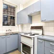 Rental info for Studio Apartment in great location - Open for Inspection Saturday 5 Aug 11.15am -11.30am in the Sydney area