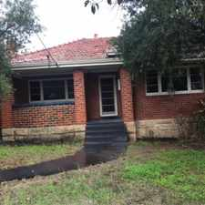 Rental info for Character Home - Available Now in the Perth area