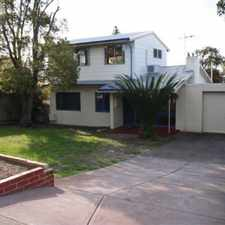 Rental info for Spacious Character Home - Great Location in the Karrinyup area