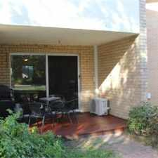 Rental info for NEAT & TIDY 2 X 1 UNIT in the Trigg area