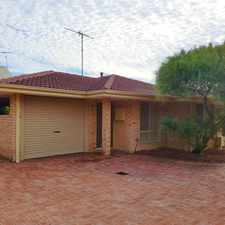 Rental info for COZY VILLA IN PRIME LOCATION in the Bicton area