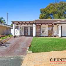 Rental info for BEST LOCATION STROLL TO GARDEN CITY RENOVATED BATHROOM, NEW CARPET in the Booragoon area