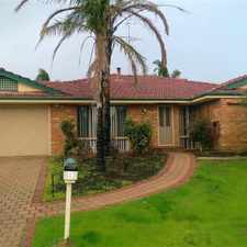 Rental info for Fabulous Family Home ! in the Perth area
