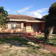 Rental info for WELL PRESENTED OLDER STYLE HOME