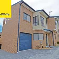 Rental info for Trendy Townhouse ********APPLICATION APPROVED********** in the Long Jetty area