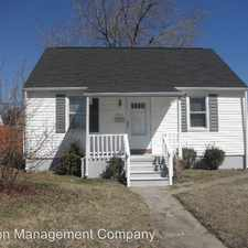 Rental info for 1507 Leslie Rd. in the Dundalk area