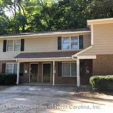 Rental info for 8717 Chapel Hill Road in the Cary area