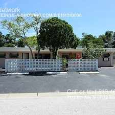 Rental info for 7112 6th Ave N - 7112 6th Ave N in the St. Petersburg area