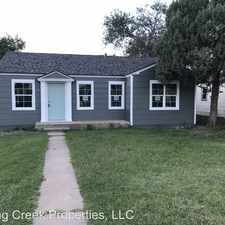 Rental info for 2704 32nd in the Lubbock area