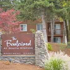Rental info for The Boulevard at South Station in the SeaTac area