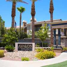 Rental info for Avalon at Seven Hills in the Henderson area
