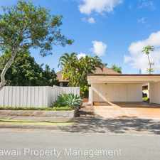 Rental info for 95-602 Wailoa Loop in the Mililani Town area