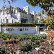 Rental info for Reidy Creek Apartments