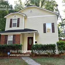 Rental info for 1028 Hickory Nut Street in the Charlotte area
