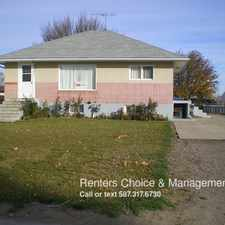Rental info for 5407 62 Ave, main floor apartment