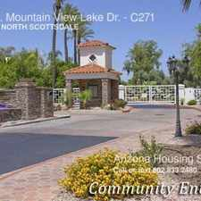 Rental info for 10080 E. Mountain View Lake Dr. in the Scottsdale area