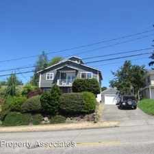 Rental info for 4126 SW Thistle Street in the Fauntleroy area