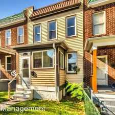 Rental info for 2629 Maisel Street Baltimore City in the Westport area