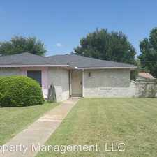 Rental info for 2718 Oakmont Dr in the 75134 area