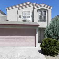 Rental info for 1818 Moneda NW in the Los Volcanes area