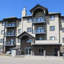 Rental info for Condo in Spruce Grove! Insuite Laundry!