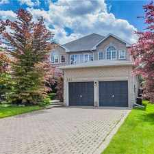 Rental info for 588 Holgate Circle in the Newmarket area