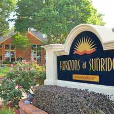 Rental info for Horizons at Sunridge in the Fort Worth area