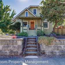 Rental info for 7135 SE 16th Ave in the Sellwood-Moreland area