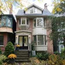 Rental info for 6 McMaster Avenue in the Yonge-St.Clair area