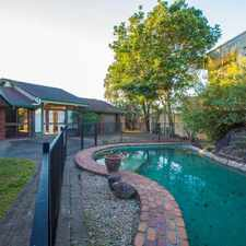Rental info for THREE BEDROOM HOME WITH POOL & ACCESS TO WATERFRONT in the Benowa area