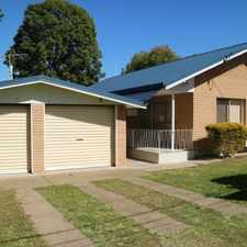 Rental info for SOLID BRICK HOUSE IN EDWARD STREET in the Brisbane area