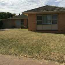 Rental info for TENANT ACCEPTED - NO MORE APPLICATIONS! in the Adelaide area