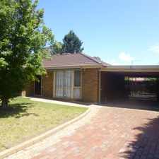 Rental info for Lovely three bedroom home in excellent location! For private appointments please contact Ebony 9782 9333 in the Melbourne area