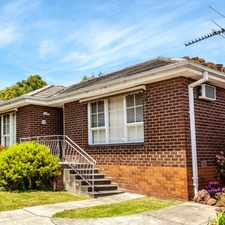 Rental info for IDEAL COMFORT in the Nunawading area