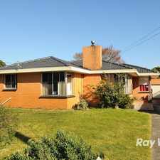 Rental info for Comfortable Family home in Cranbourne! in the Melbourne area