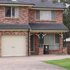 Rental info for APPROVED APPLICATION - 3 Bedroom Duplex with large bedrooms. in the Sydney area